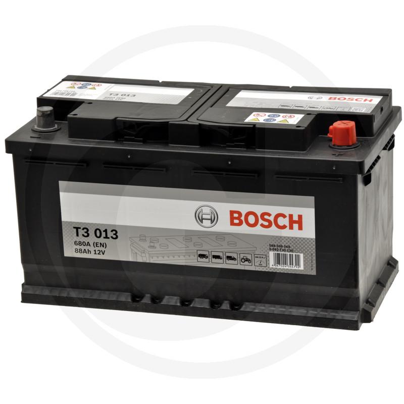 bosch batterie t3 12v 88ah. Black Bedroom Furniture Sets. Home Design Ideas